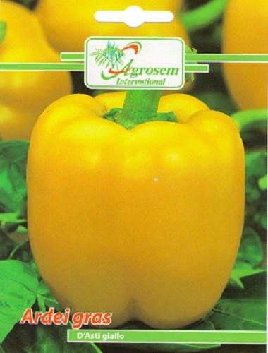 Seminte legume - Ardei gras D'Asti Giallo