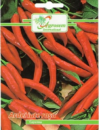 Seminte legume - Ardei Iute Rosu Cayenna