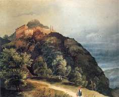1848-49.-Castello_di_Gusaliggio_Pittore_ALBERTO_PASINI