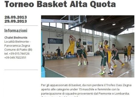 "U14 in ""alta quota"" : buona la prima !"