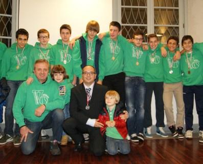U14 2012\13 premiati dal Comune di Induno Olona