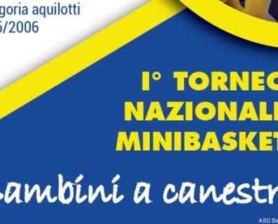 1° Trofeo nazionale minibasket Robur et Fides