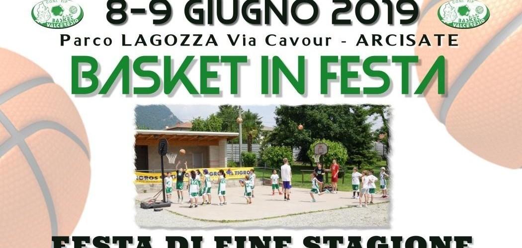 FESTA BASKET VALCERESIO 8-9 GIUGNO : ISCRIZIONI