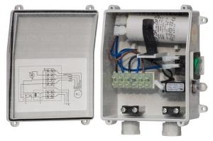 VALCO Srl  thermal protection with capacitor for one