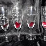 gravure sur verre amour saint valentin