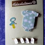 carte de félicitation naissance
