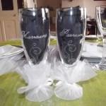 flute en verre parrain marraine communion