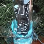 biberon en verre lapin gravure prenom date