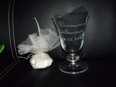 calice communion gravure prenom date