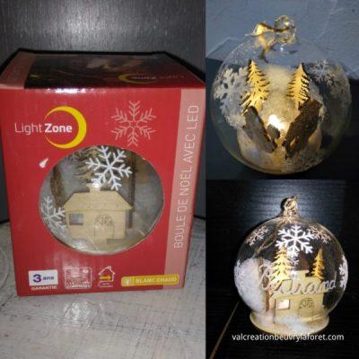 boite-cadeau-boule- lumineuse-led-personnalisée prénom en bois