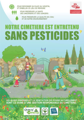 Cimetière sans pesticides