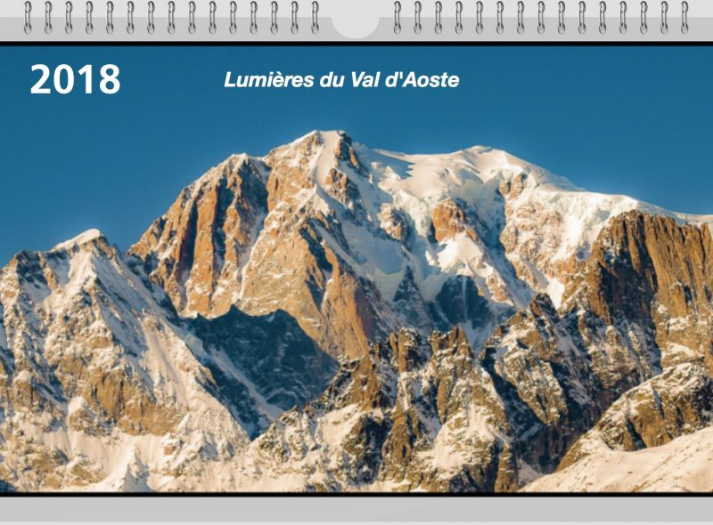 Calendrier 2018 Lumières du Val d'Aoste