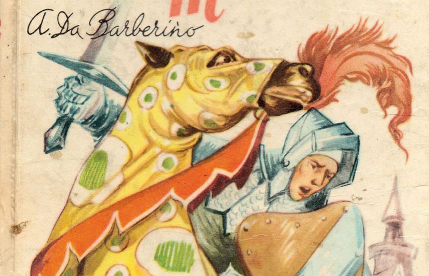 Storia di Andrea da Barberino, autore del XIV secolo che scrisse il Guerrin  Meschino