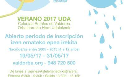 Ya puedes apuntar a tus hijas e hijos en las Colonias Rurales de Verano 2017