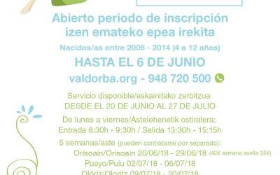 Ya puedes apuntar a tus hijas e hijos en las Colonias Rurales de Verano 2018