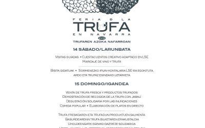 La Feria de la trufa de Valdorba: para todos los públicos y solidaria con los municipios afectados por la riada