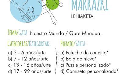 CONCURSO DE DIBUJO / MARRAZKI LEHIAKETA