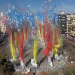 Calendario Mascletaes y Castillos de Fuegos Artificiales de Valencia Fallas 2016