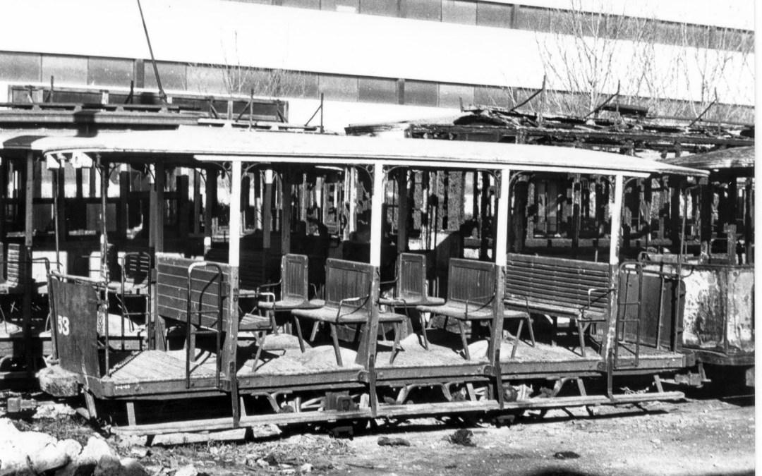 El vehículo tranviario más antiguo conservado en España es valenciano