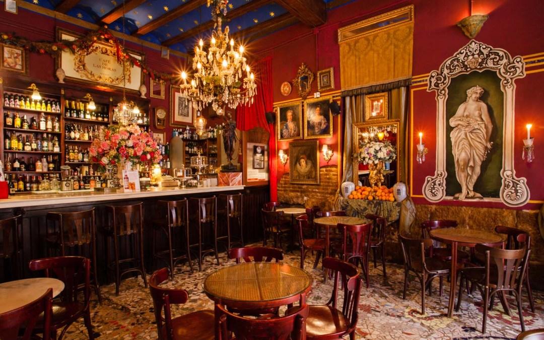 Un lugar mágico, y original, en Valencia: el Café de las Horas
