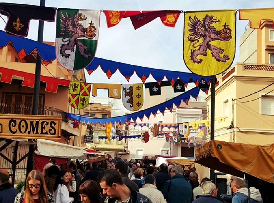 Mercados medievales y temáticos de la Comunidad Valenciana en mayo de 2016