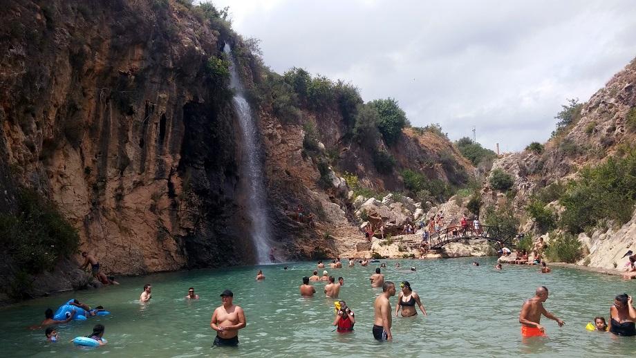 Bolbaite y su bonita zona de baño en plena naturaleza: el área recreativa Paraje del río Sellent