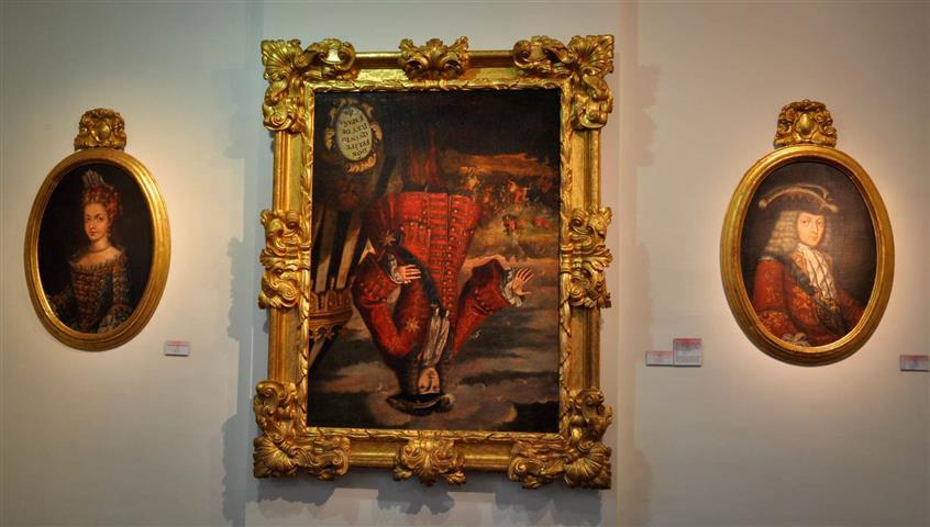 ¿Sabías que en Xàtiva cuelga cabeza abajo un retrato de Felipe V?