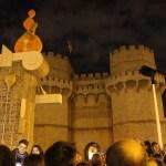 Una Crida, un Castillo Piromusical y la Cremá de la falla el domingo en las Torres de Serranos
