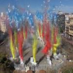 Calendario mascletaes y castillos de fuegos artificiales de Valencia Fallas 2017