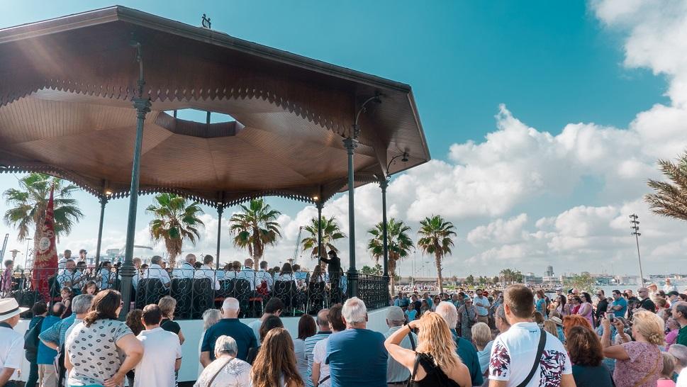 Vuelven los Conciertos de Bandas a la pérgola de La Marina de Valencia