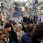 Mercaditos falleros en Valencia durante las Fallas 2018 / Mercados y Foodtrucks Fallas 2018