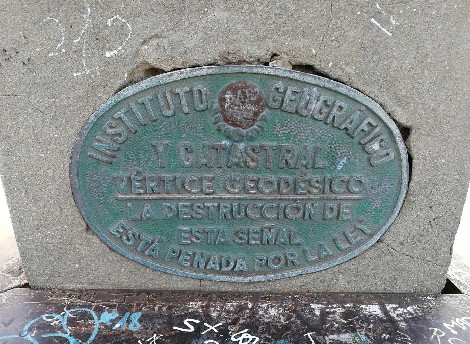 Los vértices geodésicos de la Comunidad Valenciana
