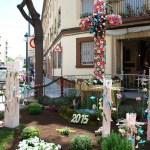 """49 """"cruces de mayo"""" elaboradas con flores adornarán desde mañana las calles de Valencia"""