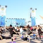 El festival Big Yoga celebra su II edición en La Marina de Valencia