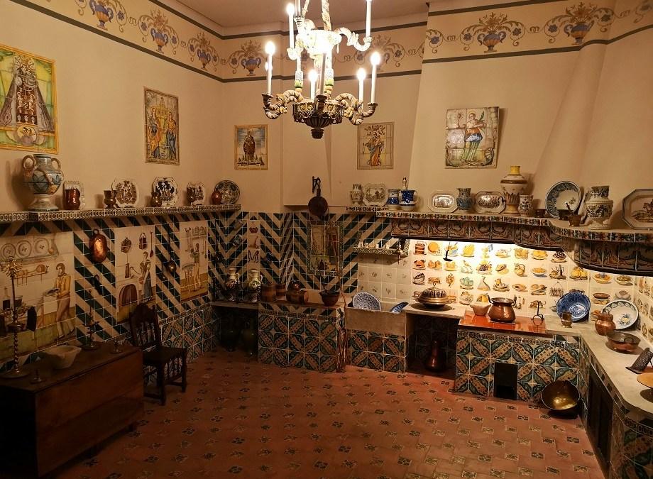 La cocina valenciana del palacio del Marqués de Dos Aguas de Valencia
