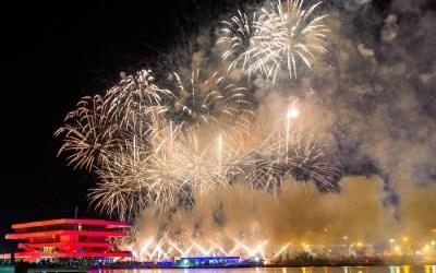 La Marina celebrará la Nochevieja con un espectacular castillo de fuegos artificiales de Caballer