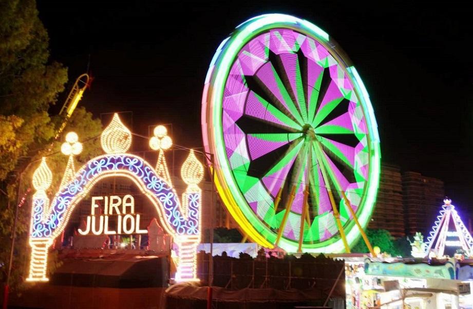 Feria de atracciones de verano 2018 de la Gran Fira de Valencia