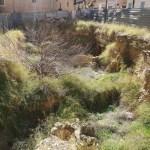 El triste abandono de la muralla romana de la calle del Salvador de Valencia