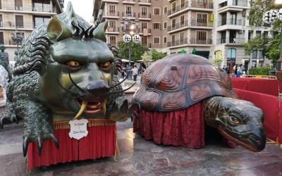 Los monstruos valencianos más populares