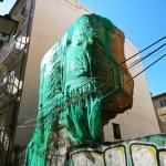 Las ruinas de la muralla árabe de la calle Salinas, un patrimonio en el olvido y a la vista del caminante