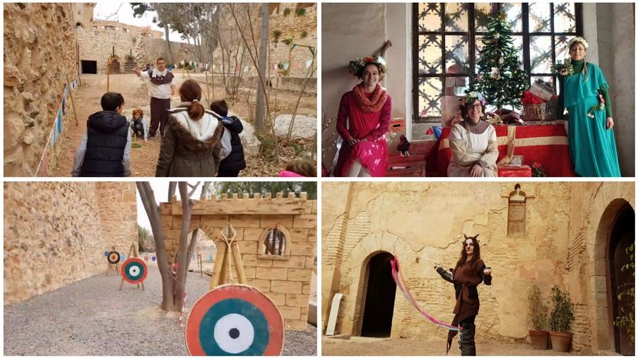 El castillo de Benissanó acoge una gran programación de Navidad