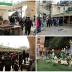 La tradicional Feria de Artesanía de Navidad de Valencia vuelve a la plaza de la Reina
