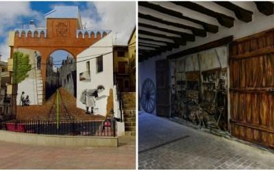 """El proyecto """"Utiel, museo al aire libre"""", se inaugura con dos grandes murales de arte urbano"""