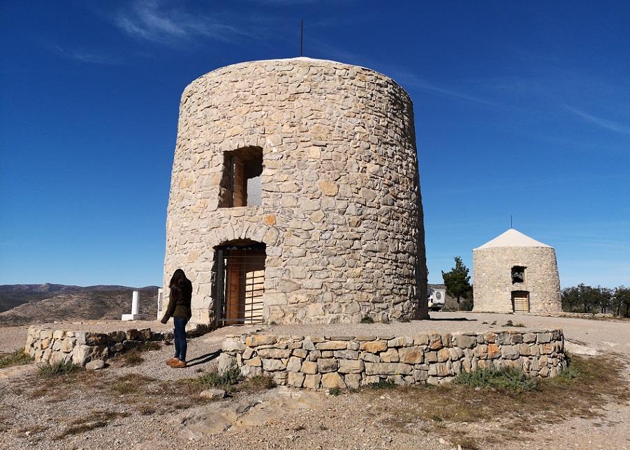 Los Molinos de Alcublas, unos molinos de viento únicos de la provincia de Valencia