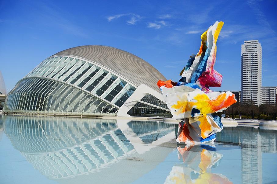 El jardín secreto de Arne Quinze llega a la Ciudad de las Artes y las Ciencias de Valencia