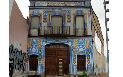 La antigua Fábrica de Bernardo Vidal, La Azulejera Valenciana de Meliana