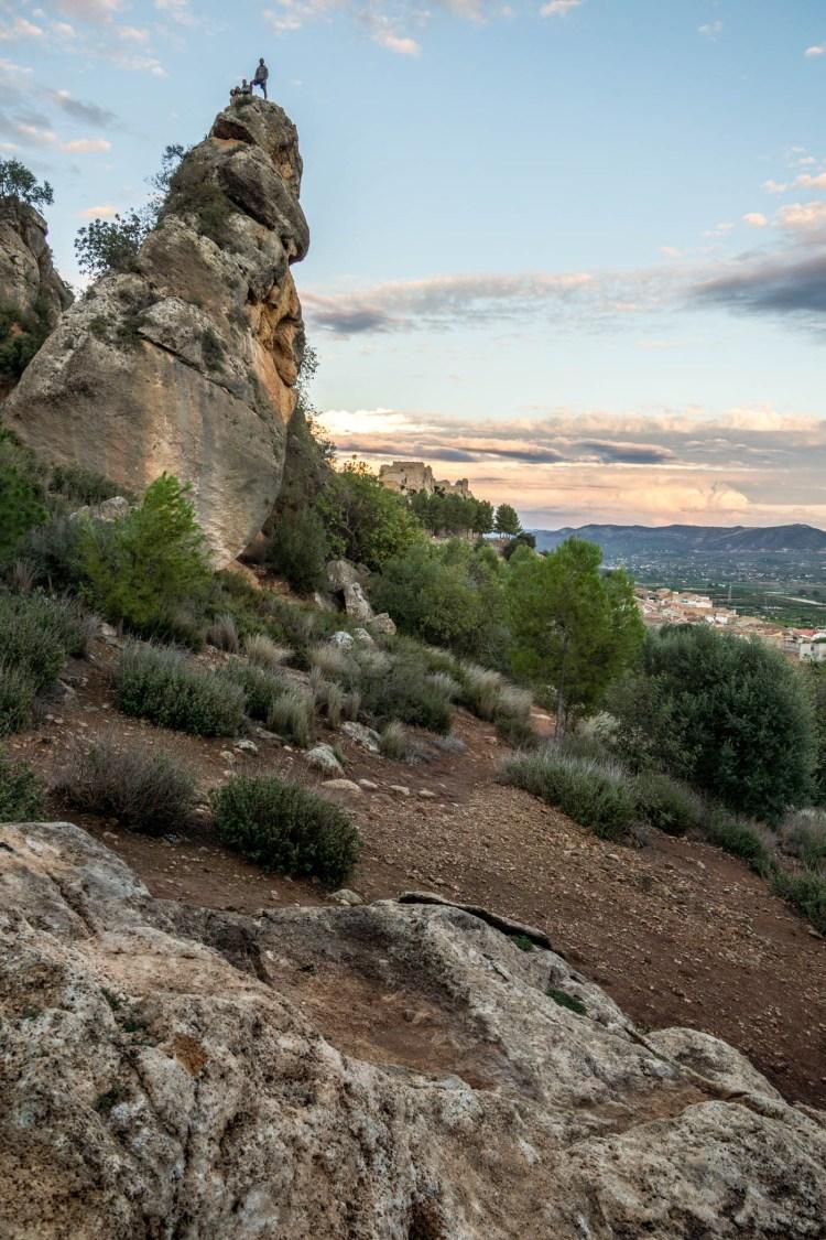 Landscape of Montesa.