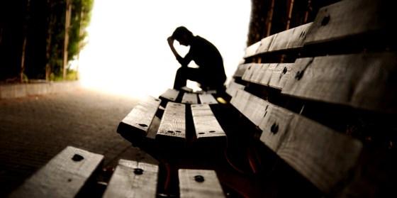 depression silhouette - Valenta Mental Health · Rancho Cucamonga