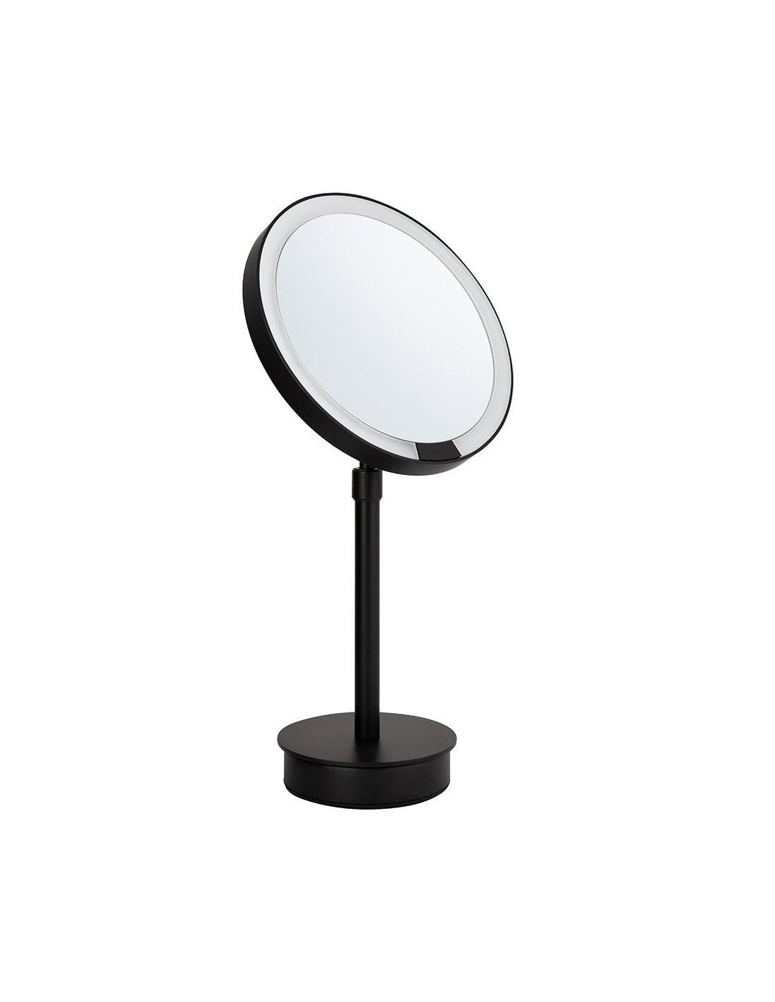 Miroir Rond Grossissant Eclairant Sur Pied Motion Sensor Just Look Sr