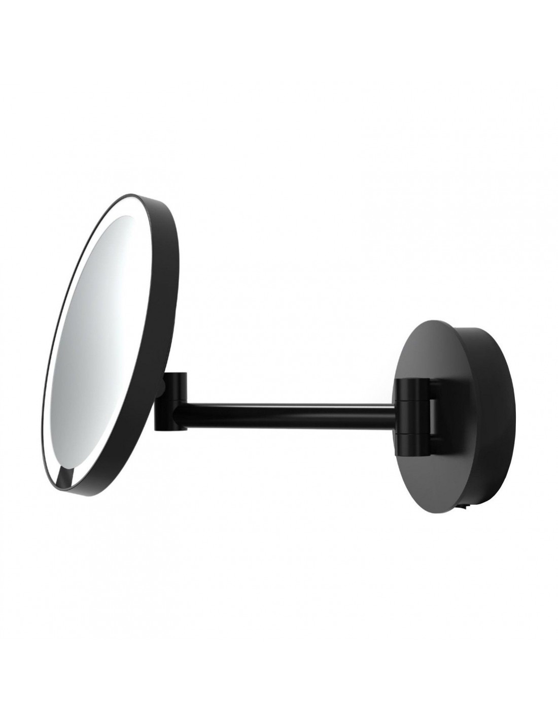 Miroir Rond Grossissant Eclairant A Suspendre Motion Sensor Just Look Wr